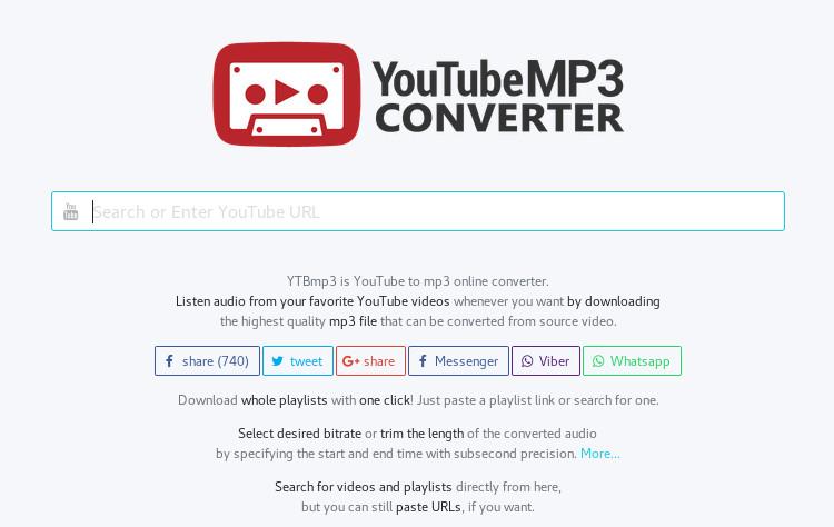 YTBmp3 screenshot